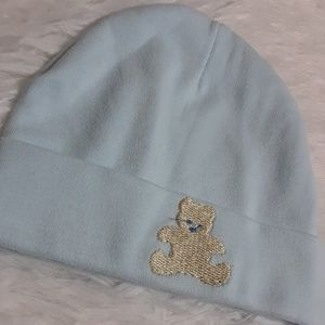 Other - Embroidered Teddy Bear Soft Cap-Size 3-6 Mos